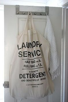 Laundry service bag