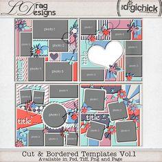 Cut & Bordered Vol.1 by LDrag Designs