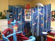 Mermaid Cove role-play area classroom display photo - Photo gallery - SparkleBox