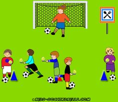 Creativ Lesson - Egg race - Kids Soccer - Soccer drills for kids from to - Soccer coaching with fantasy Tennis Lessons For Kids, Soccer Drills For Kids, Soccer Practice, Good Soccer Players, Soccer Skills, Kids Soccer, Soccer Stars, Play Soccer, Toddler Soccer