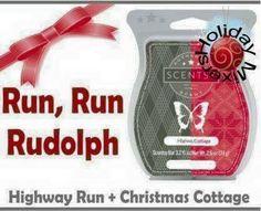 Scentsy Highway Run + Christmas Cottage = Run, Run Rudolph #recipes #mixology #scentsbykris