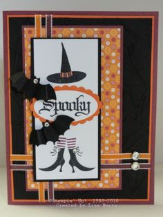 CCMC114 Wicked Spooky by Lisa Martz - Cards and Paper Crafts at Splitcoaststampers