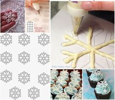 Czekoladowe gwiazdki ❄ ❄ ❄️ Super pomysł na świąteczną dekorację....