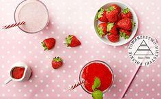 Pożywny koktajl truskawkowy. Kuchnia Lidla - Lidl Polska. #lidl #dzieci #truskawki #koktajl