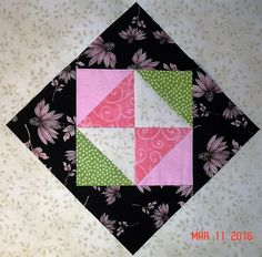 "My Splendid Sampler Block 8 - ""Friends around the Square"""