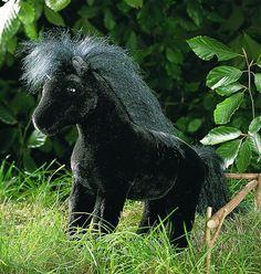 """""""Ebony"""" Black Horse"""