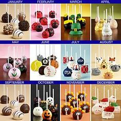 6 Months of Chocolate Cake Pops