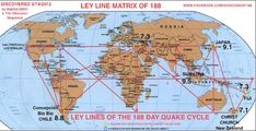 The MATRIX of 188 - LEY LINES of the 188 DAY Mega-Quake Cycle Discovered & linked to NEW MADRID QUAK, page 1