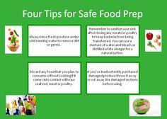 Four Tips for Safe Food Prep