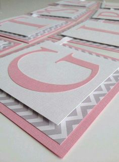 Diy birthday banner. Love the different patterns and textures of the cardstock.