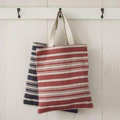 Striped Tote Bags - Horizontal