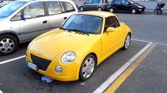 Daihatsu Copen yellow