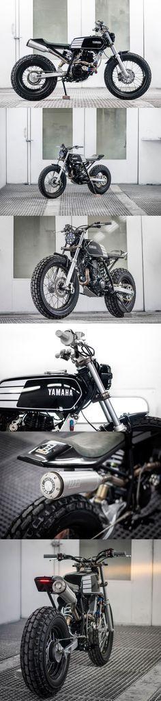 FAT TRACKER: WOLF MOTO'S CHUNKY YAMAHA TW200