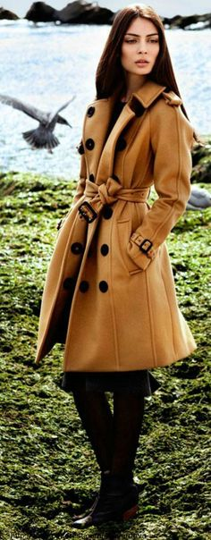 """Paula by Della Bass in """"Burberry Days in Long Beach"""" for Fashion Gone Rogue"""