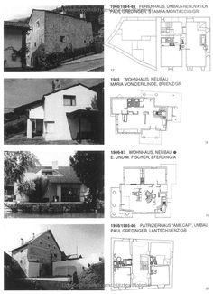 Rudolf Olgiati: Architekt: Amazon.co.uk: Thomas Boga: 9783034603102: Books Arch House, Modern Architecture, Facade, Villa, Floor Plans, Construction, How To Plan, Classic, Traditional