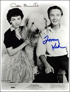 Do you remember Disney young actor Tommy Kirk? Here he is as the teen star in Disney's Shaggy Dog (1959) with Annette. He was in numerous TV shows and some of the later Disney movies in the 60s. Today Tommy is 72  and retired. He was inducted as a Disney Legend in 2006 along with former co-stars Tim Considine and Kevin Corcoran.