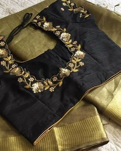 Embroidery work blouses . . . . . . . . #southindianfashion #embroidery #bridesofindia #bridesofbangalore… Pattu Saree Blouse Designs, Blouse Designs Silk, Bridal Blouse Designs, Blouse Patterns, Simple Blouse Designs, Stylish Blouse Design, Embroidery Suits Design, Work Blouse, Shopping