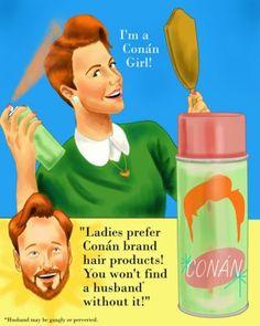 I'm a Conan girl