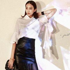 Kara Blouse  luxury blouse dint 딘트