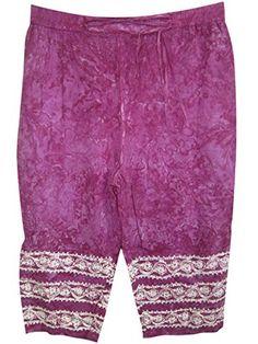 Women's Comfy Pants Purple Boho Yoga Trouser Capri Mogul Interior http://www.amazon.com/dp/B00F2E1I6E/ref=cm_sw_r_pi_dp_1iqSub0YDHDN0