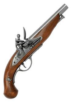 France 18th Century Flintlock Pistol.