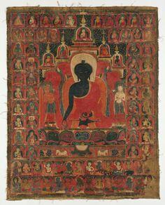 From the Harvard Art Museums' collections Seated Medicine Buddha (Sanskrit: Bhaishajyaguru) Harvard Art Museum, Eastern Philosophy, Stencil Printing, Buddha Art, Chiaroscuro, Wood Engraving, Sacred Art, Asian Art, Illustration