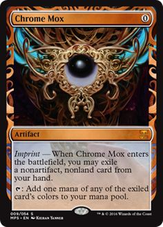 Chrome Mox Masterpiece Series Kaladesh Inventions Magic the Gathering card