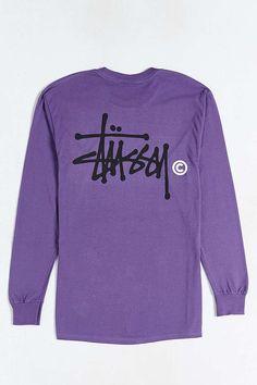 9777d0f6c94 Stussy Basic Logo Long-Sleeve Tee