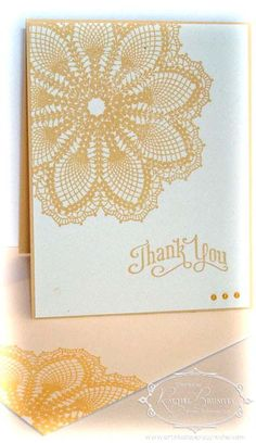 Hello Doily, Stampin' Up!