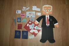 Singing Time Missionary Game. Get the missionary packed for his mission by singing the songs