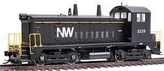 PROTO 2000(R) Diesel EMD SW9 Powered w/Sound & DCC -- Norfolk & Western #2239 (920-41420) -- Walthers Model Railroading