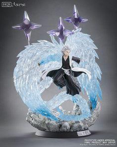 Bleach - Toshiro Hitsugaya HQS Statue by Tsume Art - HanamiFlower Miniature Figurines, Collectible Figurines, Star Wars Clone Wars, Star Wars Art, Star Trek, Art Anime, Manga Anime, Bleach Figures, Anime Figurines