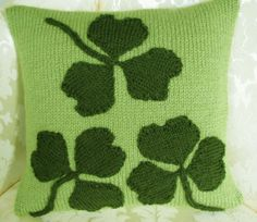 Irish Shamrock Cushion Kit - £10.00 #Craftfest EmmaRose Crafts