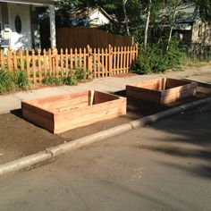 Planter bed install