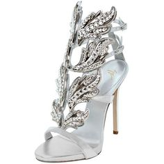 Giuseppe Zanotti Design Women 120mm Pyramid Mirror Leather Sandals ($1,740) ❤ liked on Polyvore featuring shoes, sandals, heels, sapatos, zanotti, silver, giuseppe zanotti shoes, leather footwear, giuseppe zanotti and heeled sandals