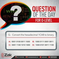 Are you sure you know the answer to this question?  #Olevel #Alevel #ComputerScience #CIE #ZakOnWeb