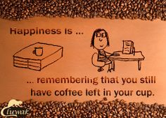 What is a happiness for a coffee drinker...