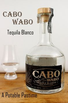 Cabo Wabo Tequila Blanco | A Potable Pastime. Close your eyes and let the spirit take you to the highlands of Jalisco. #tequila