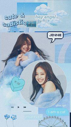 3 Bears, Jennie Blackpink, Blue Aesthetic, Kpop, Wallpaper, My Love, Cute, Movie Posters, Film Poster