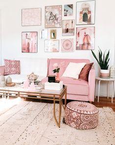 Karama - Holistic Home Decor + Lifestyle Boho Living Room, Living Room Decor, Bedroom Decor, Bohemian Living, Pink Living Rooms, City Living, Modern Bohemian, Living Room Designs, Wall Decor