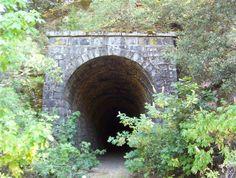 A railroad tunnel in Applegate, CA. Seems ominous - http://fortenberry.cc/tunnelzero/tunnelzero.html