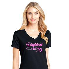 Gildan póló, strasszköves -Lánybúcsú- felirattal