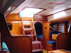 Nautor's Swan 38, interior, Sparkman & stephens design