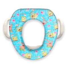 """Ginsey Spongebob Squarepants """"Jelly Fishing"""" Soft Potty Seat (Baby Product) http://www.amazon.com/dp/B0000DEW94/?tag=dismp4pla-20"""