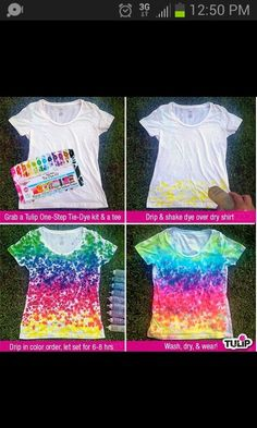 Different tie dye!