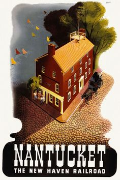 American Vintage Travel Posters | NEW HAVEN RAILROAD