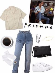 Monica Geller Outift Outfit - Grunge Fashion Looks That Feel Very at the moment 90s Fashion Grunge, Grunge Outfits, Retro Outfits, Cute Casual Outfits, Stylish Outfits, Vintage Outfits, Fashion Outfits, Throwback Outfits, Summer Outfits