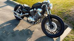 Bobber Inspiration | 1996 Yamaha 535 Virago Bobber by Damien | Bobbers and Custom Motorcycles