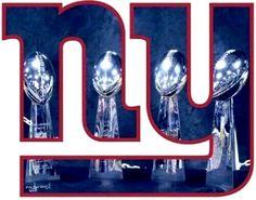new york giants - Fan Shop: Sports & Outdoors New York Teams, New York Giants Football, My Giants, Steelers Football, New York Yankees, Yankees Logo, Football Pics, Football Memes, Sport Football