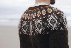 Flugeldar Knitting pattern by Kiyomi Burgin | Knitting Patterns | LoveKnitting Fair Isle Knitting Patterns, Fair Isle Pattern, Knit Patterns, Stitch Patterns, Icelandic Sweaters, Lang Yarns, Knit In The Round, Yarn Brands, Arm Knitting